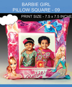 Barbie Girl Pillow Square