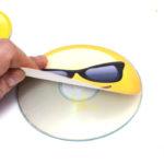 DVD CD Multi Color Sticker