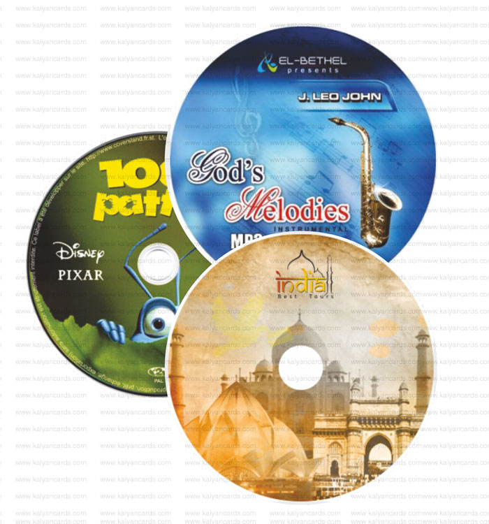 cd dvd sticker with die cutting finish pack of 50