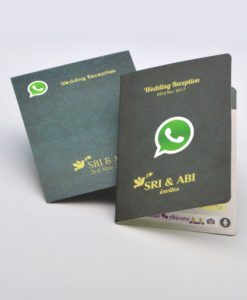 Whatsapp Wedding invitation cards