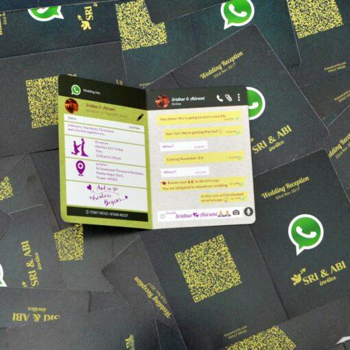 Whatsapp Invitation cards