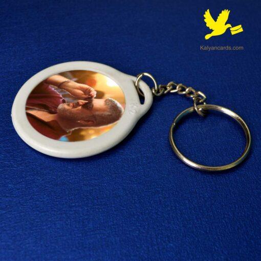 plastic keychain custom photo print