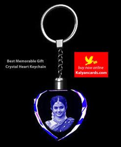 2d Crystal Keychains Best Memorable Gift Crystal heart keyrings