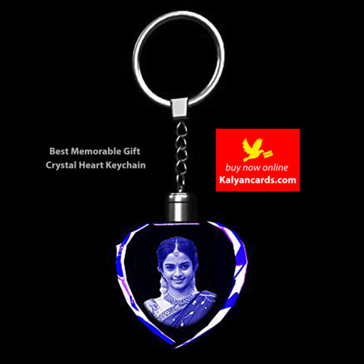 2d Crystal Keychains Best Memorable Gift Crystal heart keyrings
