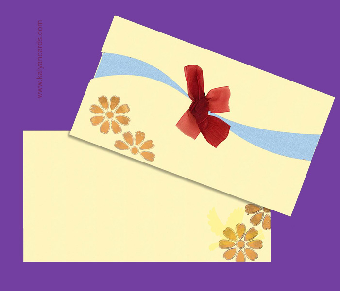 cream color personal invitation cards