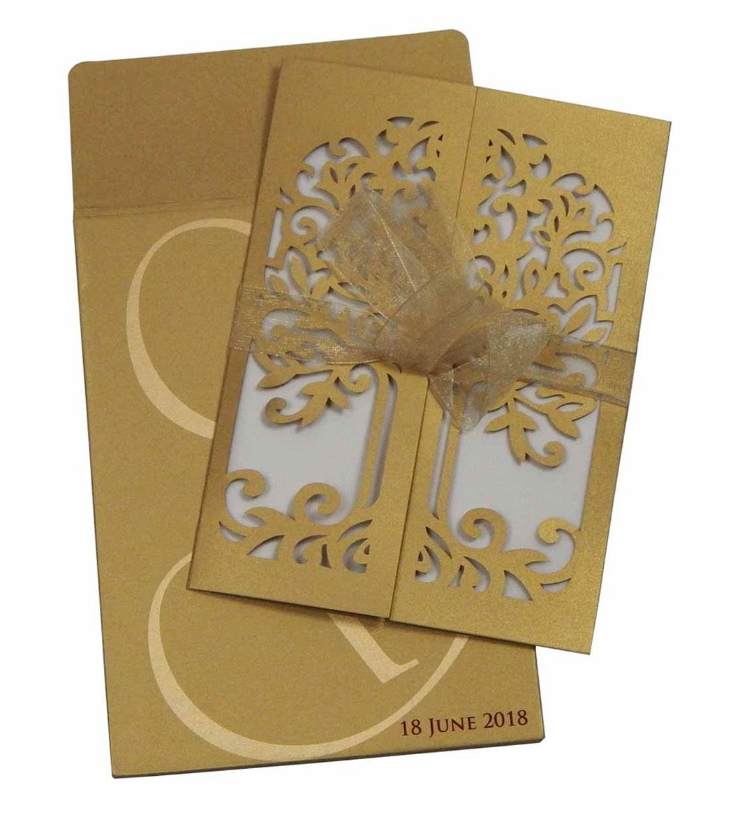 Laser Cut Invitation Cards