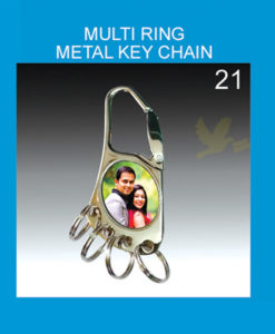 Multi Ring Metal Key chain