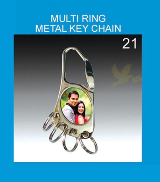 Multi Ring Metal Key chain