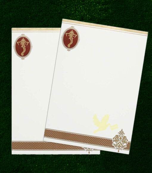 single cards invitation
