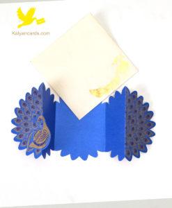 peacock invitation cards