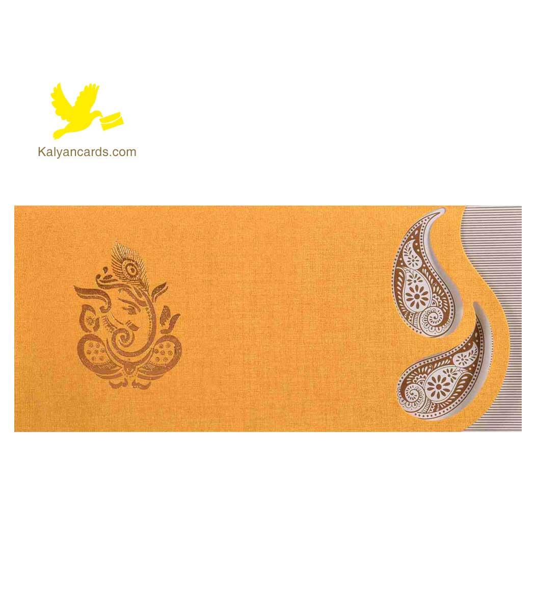 Wedding Cards Hindu Ganesha Invitation Cards